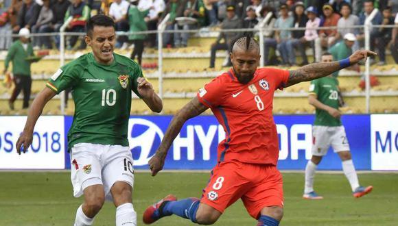 Chile y Bolivia ya no jugarán el amistoso en la fecha FIFA de noviembre. (Foto: AFP)