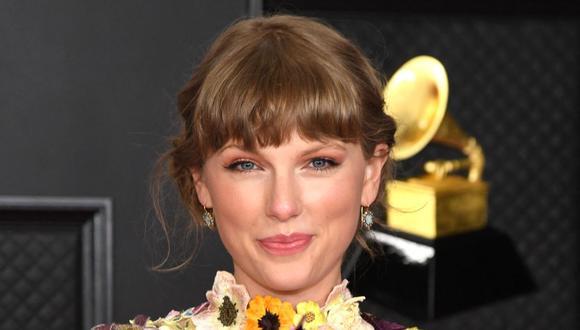 """Taylor Swift seguirá conquistando éxitos a nivel internacional gracias al lanzamiento de su nueva versión de """"Red"""".  (Foto: Kevin Mazur / The Recording Academy / AFP)"""