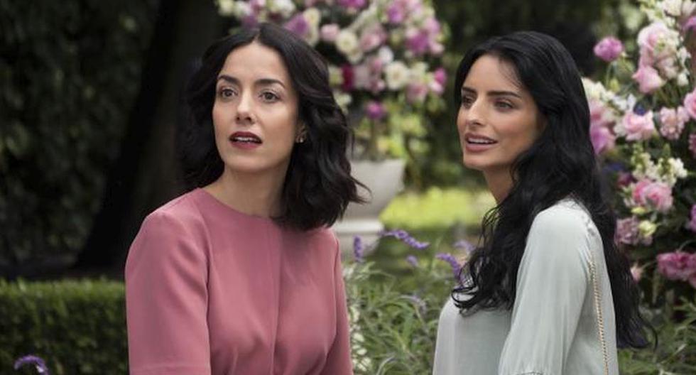 Aislinn Derbez compartió un vistazo de las grabaciones de la serie. (Foto: Netflix)