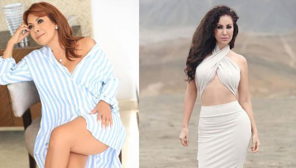 Janet Barboza cuestiona retoques en fotografía de Magaly Medina. (Foto: Instagram)