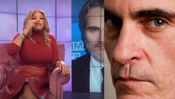 Presentadora de TV causa repudio tras burlarse de la cicatriz de nacimiento de Joaquin Phoenix.