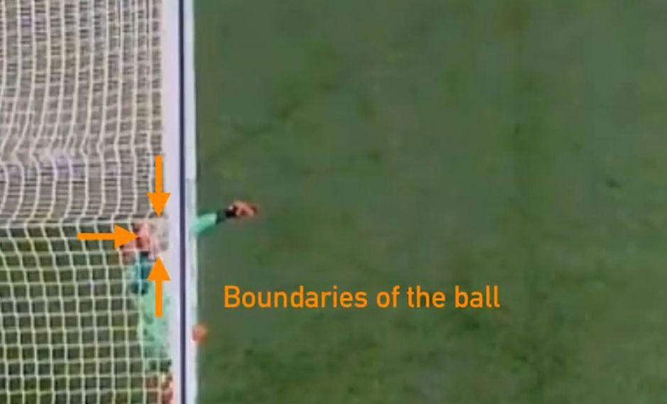 Cristiano Ronaldo y el video que asegura que su segundo gol al Atlético Madrid no traspuso la línea del arco. (Video: YouTube)