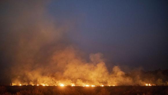 En lo que va del año, suman más de 80,000 los incendios en todo Brasil. (Foto: AFP)