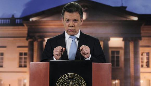 NUEVO INTENTO. Presidente Juan Manuel Santos busca resolver un conflicto que ya lleva 48 años. (Reuters)