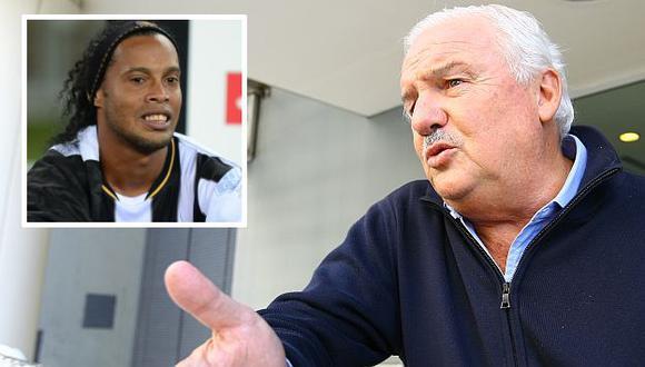 Niembro no tuvo piedad de Ronaldinho y compañía. (USI)
