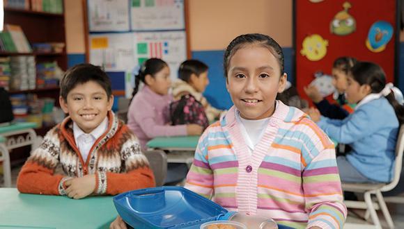 Minedu recomendó promover el uso de ropa abrigadora que cubra el rostro, el cuello, las manos y los pies de los escolares. (Foto: Difusión)