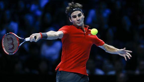 Roger Federer humilló a Murray y avanza a semifinales del Masters de Londres. (AP)