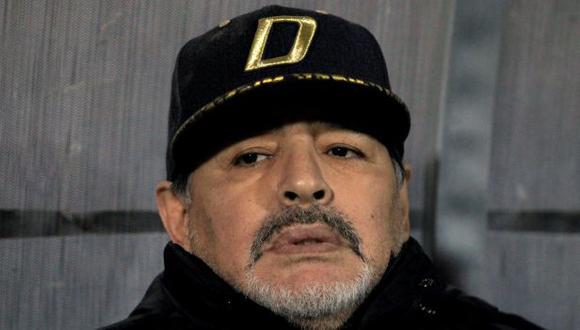 Diego Maradona continuará como director técnico de Dorados de Sinaloa. (Foto: Reuters)