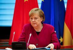 """Merkel pide a EE.UU. """"abrir el mercado"""" y permitir exportaciones de vacunas"""