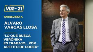 """Álvaro Vargas Llosa: """"Lo que busca Verónika es trabajo... por apetito de poder"""""""