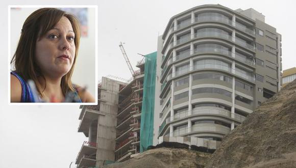 Aseguran que condominio podría colapsar en caso de fuerte sismo. (Mario Zapata)