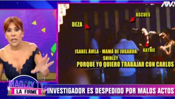 """Magaly Medina despidió a un 'urraco' por intento de soborno: """"A las manzanas podridas hay que separarlas sin asco"""""""