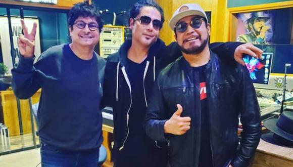 Chris Perez con La Mafia (Foto: Instagram)