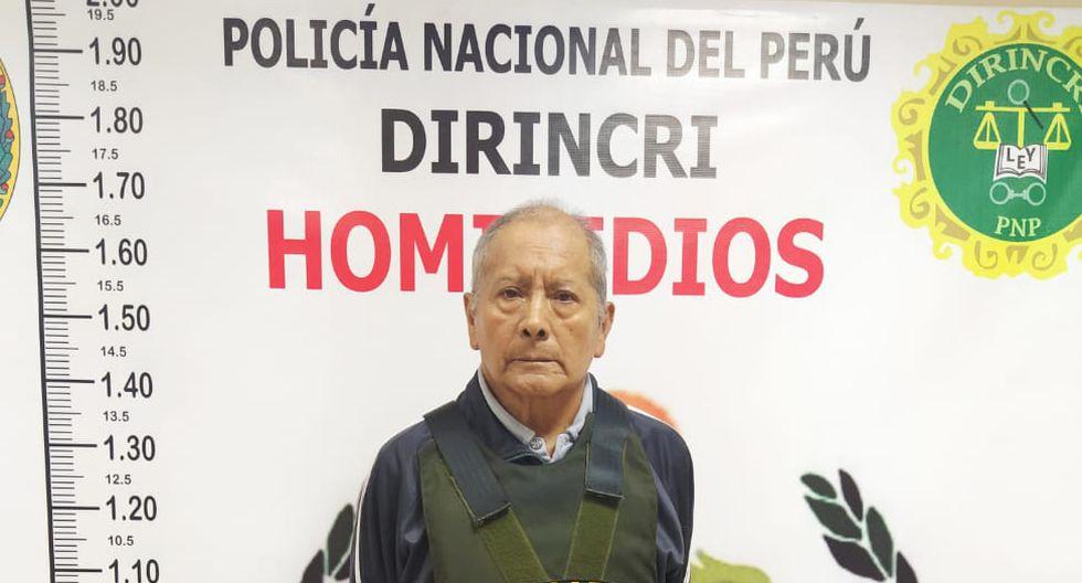 Cosme Villegas admitió que mató a su trabajadora. (PNP)