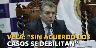 "Fiscal Rafael Vela:""Sin acuerdo los casos se debilitan"""