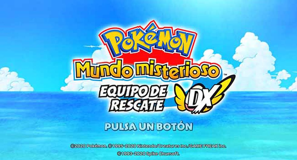 'Pokémon Mystery Dungeon: Rescue Team DX' ya se encuentra disponible en nuestro mercado en exclusiva para Nintendo Switch.