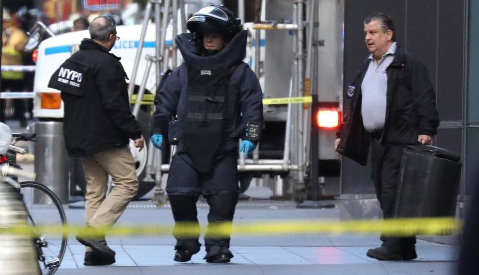 La cadena estadounidense CNN anunció este miércoles que evacuó su sede de Nueva York tras haber recibido un paquete sospechoso. (Foto: Reuters)
