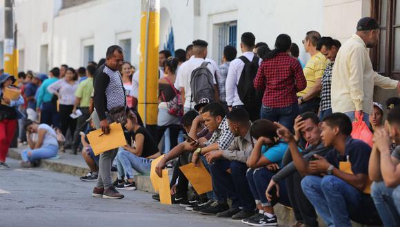 Los venezolanos en el Perú se desempeñan en distintos sectores de la economía. (GEC)