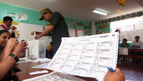 La ONPE aseguró que el 95% de personas que usaron la herramienta recibieron como local de votación su primera opción.  (Foto: ONPE)