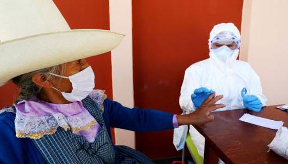 Cajamarca registra, hasta el momento, 645 casos, 269 recuperados, 9 fallecidos y 22 pacientes internos. (Andina)