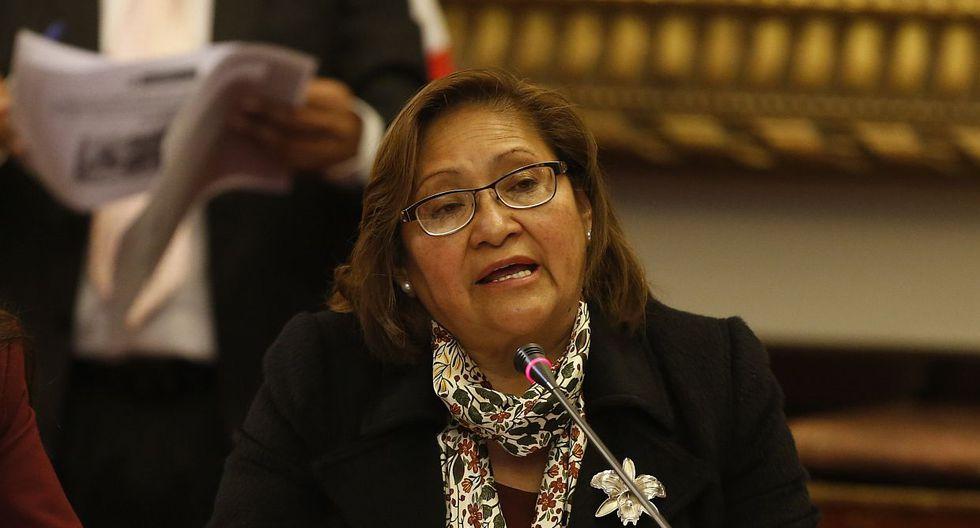 La congresista Ana María Choquehuanca, vocera alterna de PpK, atribuyó las discrepancias con César Villanueva a una falta de comunicación. (Foto: GEC)