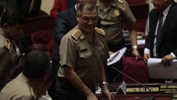 El general Flores no se pronuncia. (César Fajardo)