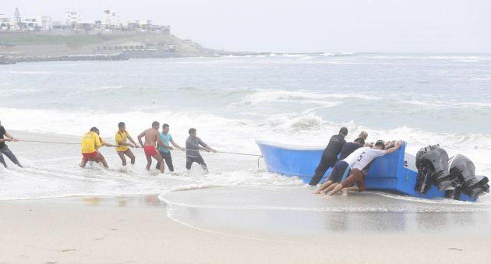 Embarcación fue hallada por la Policía esta mañana. (Mario Zapata/Perú21)