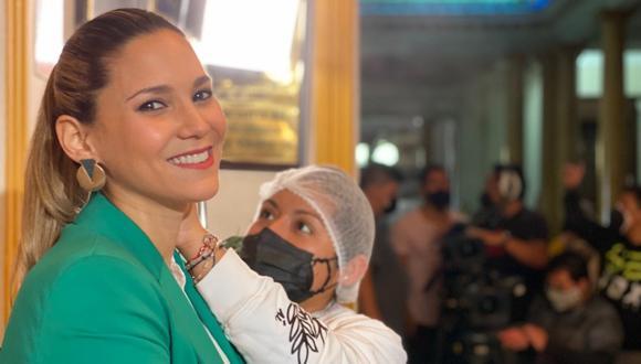 """Maria Grazia Gamarra se une al elenco de la serie """"Luz de luna"""". (Foto: Del Barrio Producciones)"""