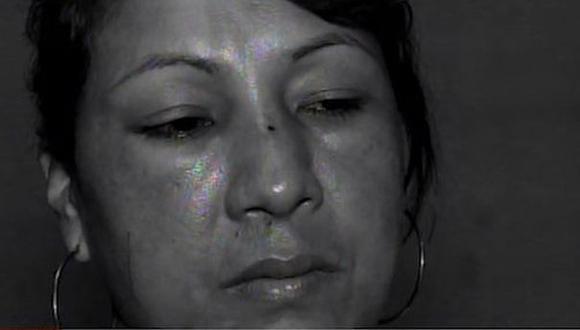 Janet Chauca López ya había sido agredida anteriormente por el sujeto. (Foto: Captura/América Noticias)