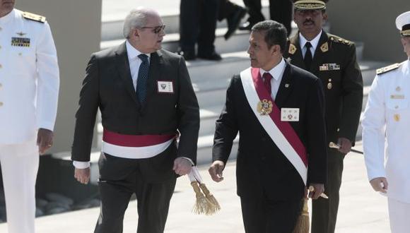 Responderán. Ollanta Humala y Pedro Cateriano tendrán que volver al Congreso por el satélite. (Mario Zapata/Perú21)