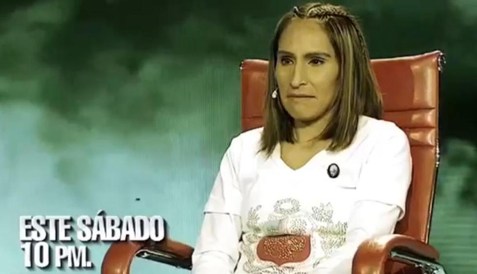 Gladys Tejeda estará en El valor de la verdad. (Imagen: Captura Latina)