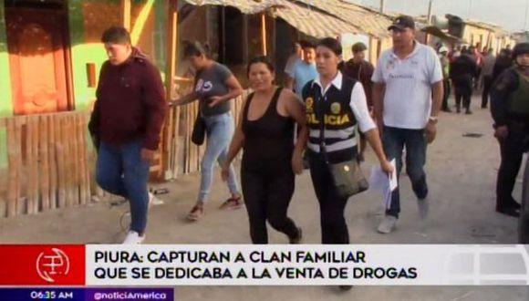 En la operación participaron 50 policías y 4 fiscales. (Foto: Captura/América Noticias)