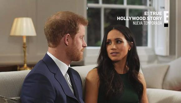 Enrique y Meghan de Sussex serán los protagonistas del episodio 'Harry y Meghan' de 'E! True Hollywood Story'. (Foto: E! Entertainment)