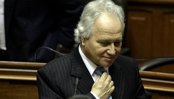 Eguiguren dejó el gabinete en diciembre pasado. (USI)