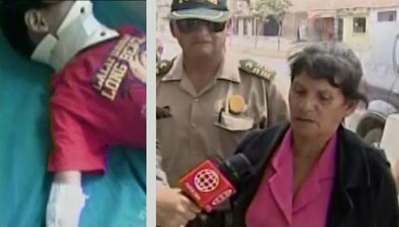 La Policía detuvo a la supuesta agresora del niño (Foto referencial)