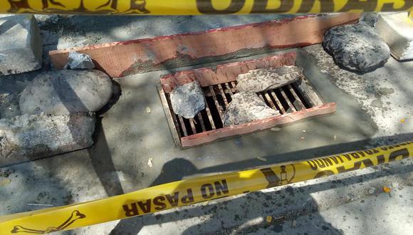 Huánuco: municipio repone tapas de buzones que fueron robadas y otras que están deterioradas (Foto: Municipalidad de Huánuco)