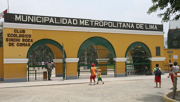 Parque zonal Sinchi Roca, en Comas, contará con centros culturales, ludotecas, entre otros. (USI)