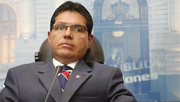 Michael Urtecho se defiende de denuncias. (Luis Gonzales)