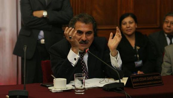 Julio Gagó fue el encargado de explicar el tema. (Peru21)