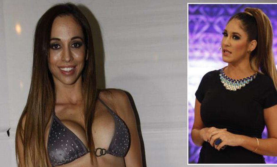 Olinda Castañeda aseguró que fracaso de Tilsa Lozano en la conducción se veía venir. (USI)