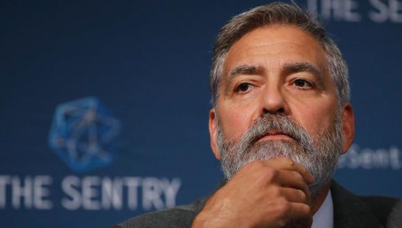 """George Clooney reveló que antes de grabar """"Cielo de medianoche"""" lo afectó una pancreatitis. (Foto: AFP)"""