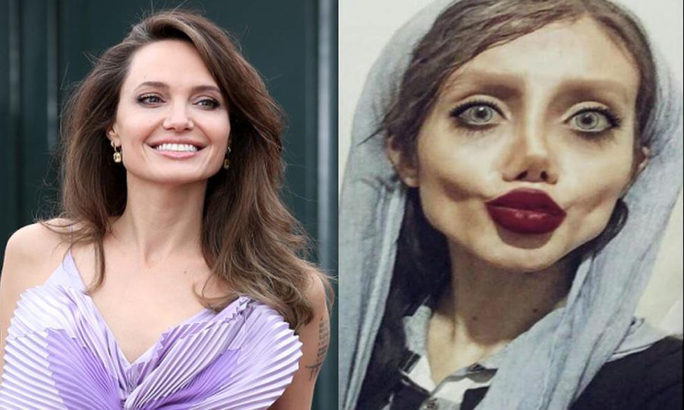 Sahar Tabar se hizo conocida en 2017 por haberse sometido a múltiples cirugías para parecerse a Angelina Jolie. | Instagram