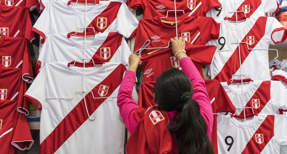 Gamarra lista para alentar a la selección peruana. (OMAR LUCAS/ GEC)