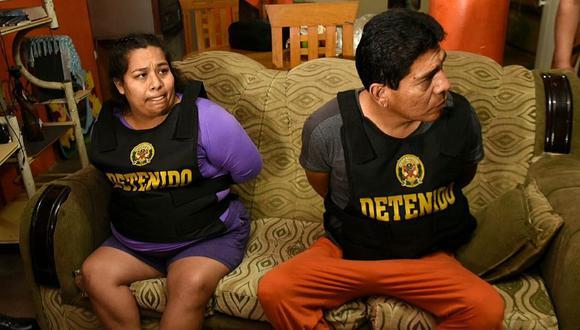 Detenidos cumplían distintos roles como usurpadores, microcomercializadores, acopiadores de armas y conspiradores para el sicariato. (Foto: Twitter Mininter)