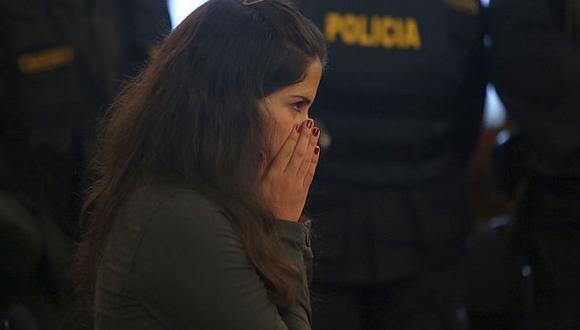 Eva Bracamonte estaría dejando el penal de Chorrillos este sábado. (USI)
