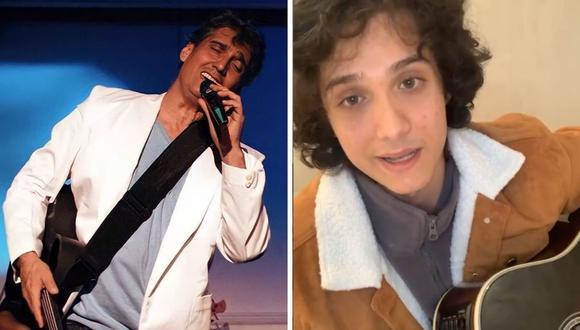 Vasco Madueño le responde a Guillermo Dávila luego que cantante realizó comunicado sobre su paternidad.  (Foto: Instagram @vascomadueno / @guillermodavilaoficial).