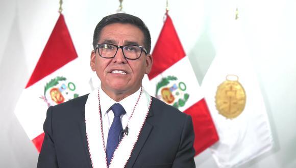 """Fiscal Elmer Chirre afirmó que existen sectores que quieren """"debilitar la colaboración eficaz""""(video)."""