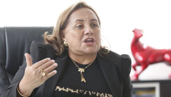 Rosa Núñez le pide a su exesposo César Acuña celeridad en el reparto de bienes. (Perú21)