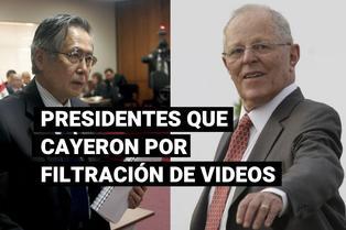 Filtración de videos marcaron caída de presidentes en Perú
