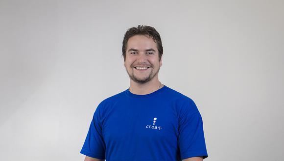 Luis Miguel Starke fundó hace 10 años Crea+.